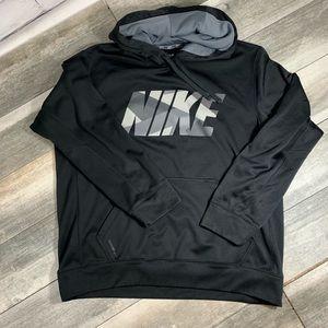 {NIKE} thermal fit hooded sweatshirt